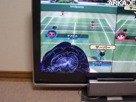 5 exemplos de como quebrar sua TV utilizando o Wii-Mote