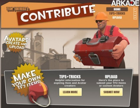 Crie uma arma para Team Fortress 2 e veja sua criação no jogo