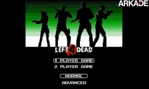 Baixe grátis a versão de Left 4 Dead em 8-bits