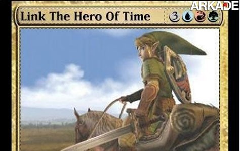 "Magic: The Gathering ""ganha"" coleção de The Legend of Zelda"