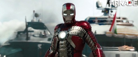 Confira o novo trailer lançado no Oscar de Iron Man 2