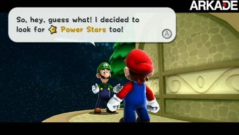 Luigi será um personagem jogável em Mario Galaxy 2