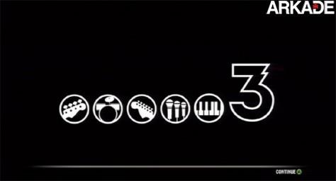 Logo de Rock Band 3 revela presença de teclado