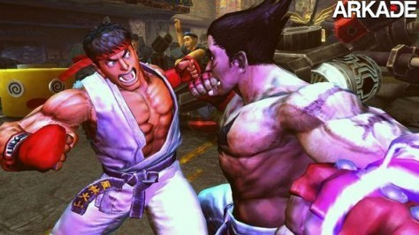 Veja um vídeo e imagens de Street Fighter X Tekken