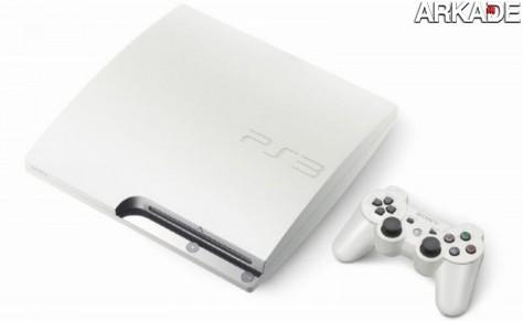 Novo PS3 virá na cor branca e com HDD de 320Gb