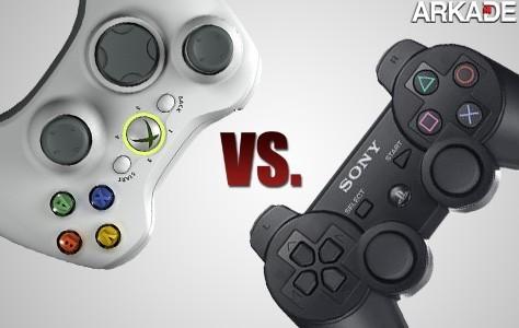 Análise de controllers: PS3 vs X360 - qual é melhor?