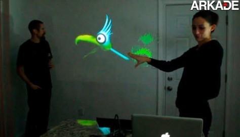 Microsoft Kinect é usado para show de fantoches digitais