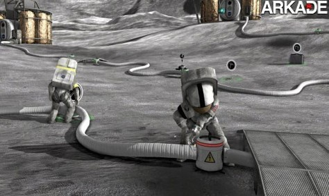 Jogo grátis feito pela NASA simula o dia-a-dia de astronautas na Lua