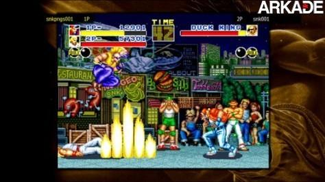 Clássicos do Neo Geo chegam na PlayStation Network neste mês