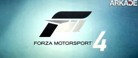Forza Motorsport 4 é anunciado; confira o trailer live action