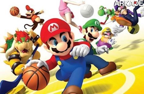 Mario Sports Mix ganha data de lançamento e capa oficiais