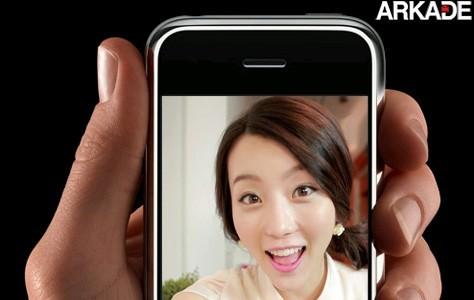 """Namorada virtual"" liga para solteiros pelo iPhone"