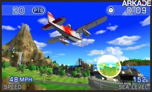 Pilotwings Resort: veja como vai ser o gameplay do jogo do 3DS