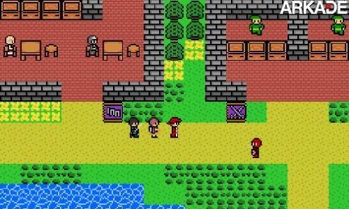 NEStalgia mistura os clássicos RPGs 8-bits com os atuais MMOs
