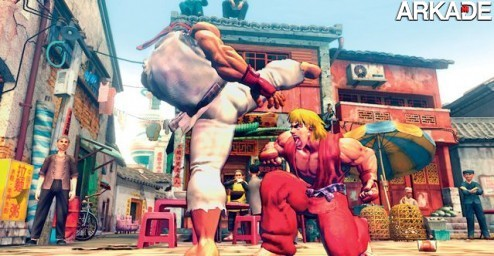 Cinco games de luta recriados na vida real