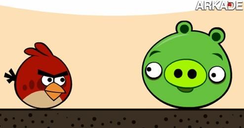 A péssima estratégia de combate dos pássaros de Angry Birds #humor