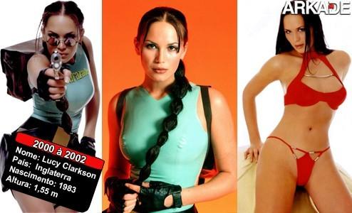 As faces de Lara Croft: As beldades que deram vida à musa dos games
