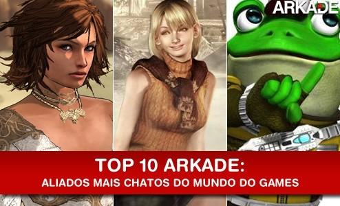 Top 10: Aliados mais chatos e irritantes do mundo dos games