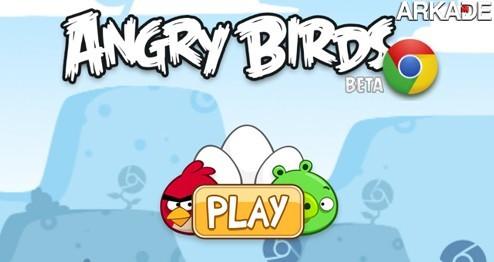 Jogue o viciante Angry Birds grátis, direto no seu navegador!