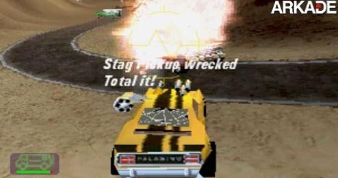 Vigilante 8 (PS One): o clássico da destruição sobre quatro rodas