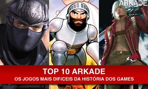 Top 10: Jogos mais difíceis da história dos games