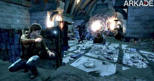 Harry Potter and the Deathly Hallows: um shooter com varinhas