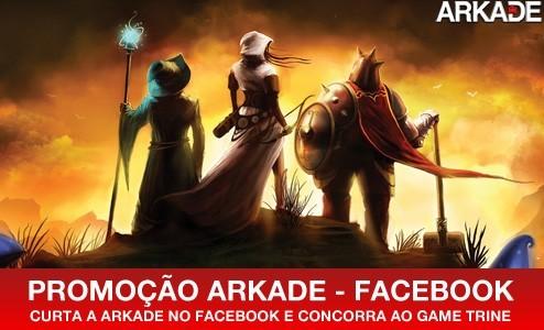 Promoção - curta a Arkade no Facebook e concorra ao game Trine
