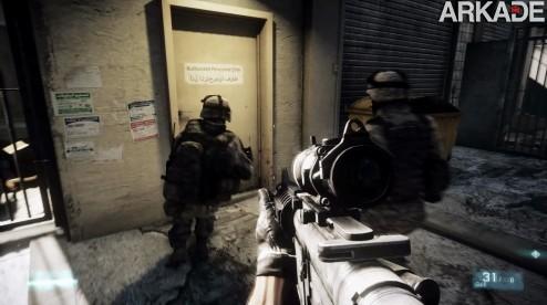 Battlefield 3: realismo é a chave do FPS que quer destronar Call of Duty