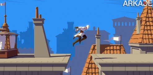 Veja uma bela animacão de Assassin's Creed com visual de Wind Waker