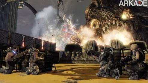 Gears of War 3: game promete encerrar a série em grande estilo