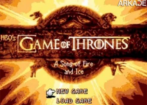E se a série Game of Thrones fosse um RPG da geração 16 bits?
