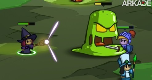 BattleHeart (iPhone, iPad, Android) um mini-RPG belo e viciante