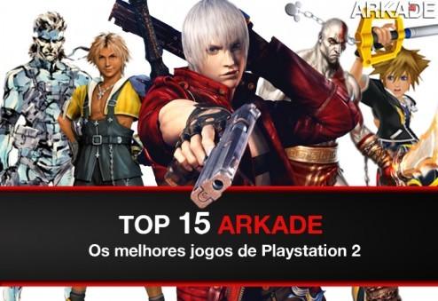 Top 15 Arkade: os melhores games de Playstation 2