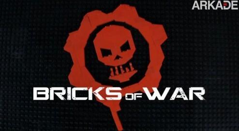 Gears of War e Lego se misturam em uma épica animação stop motion