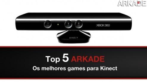 Top 5 Arkade: os melhores games para Kinect