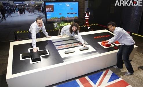 Holandeses criam o maior controller de videogame do mundo!