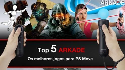 Top 5 Arkade: Os melhores jogos para PS Move