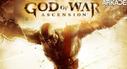 God of War: Ascension é anunciado! Confira o primeiro trailer!