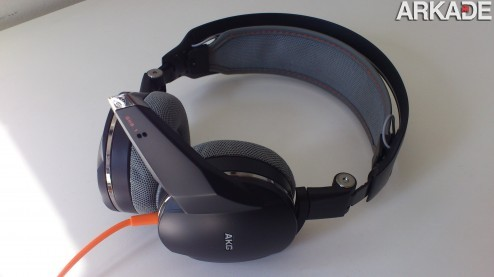 Análise de hardware: Headphone Gamer Harman AKG GHS1