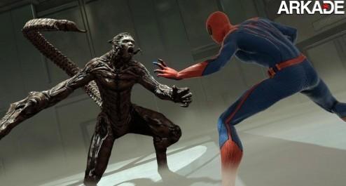 Novo trailer de The Amazing Spider-Man mostra novos vilões