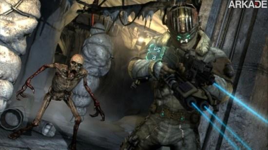 Necromorphs invadem as novas imagens de Dead Space 3