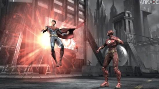 Injustice: veja 15 minutos de gameplay do jogo de luta com heróis e vilões da DC