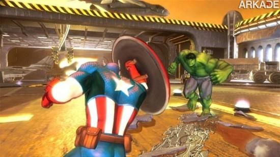Marvel: veja o gameplay do MMO Marvel Heroes e do novo game dos Vingadores