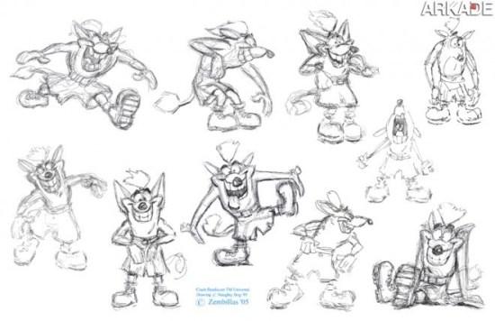 """Personagem - Crash Bandicoot, o """"quase-mascote"""" trapalhão da Sony"""