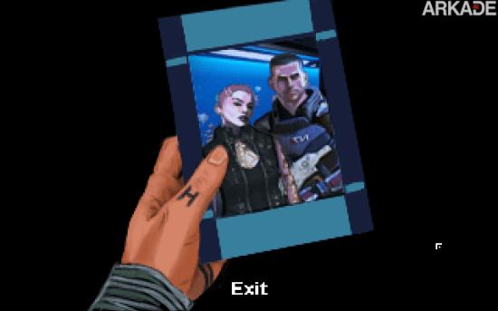 Fã está produzindo adventure point and click inspirado em Mass Effect