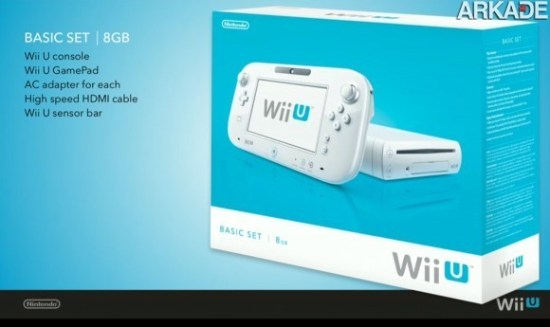 Wii U chega dia 18 de novembro custando 300 dólares!