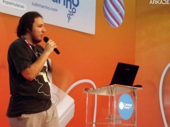 Campus Party 2013: cineasta brasileiro apresenta a evolução dos MMORPGs