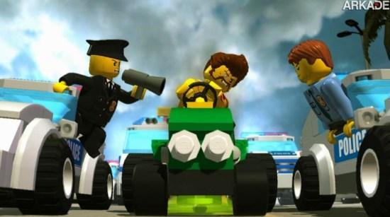 Por que Lego City: Undercover é exclusivo para o Wii U?