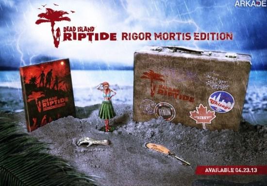 Tenso: edição especial de Dead Island Riptide traz estátua de torso mutilado