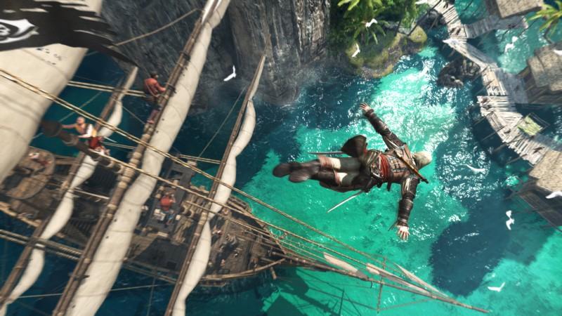 Novo vídeo de Assassin's Creed IV nos leva a um passeio nada seguro pelo Caribe
